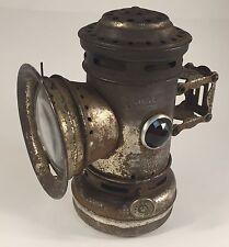 Antique Seiss Bicycle Kerosene Bicycle Lantern -- Light Weight Toledo Ohio Lamp