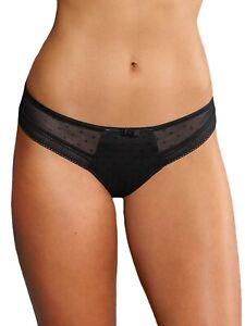 Women-039-s-Brazilian-Shorty-Emily-by-Rosa-Faia-1301-Black