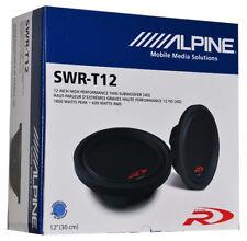 Alpine SWR-T12 Car Audio Subwoofer