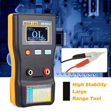 Mesr 100 V2 Esr Low Ohm Meter Capacitor Tester Auto Range With Smd Clip Probe O8l4