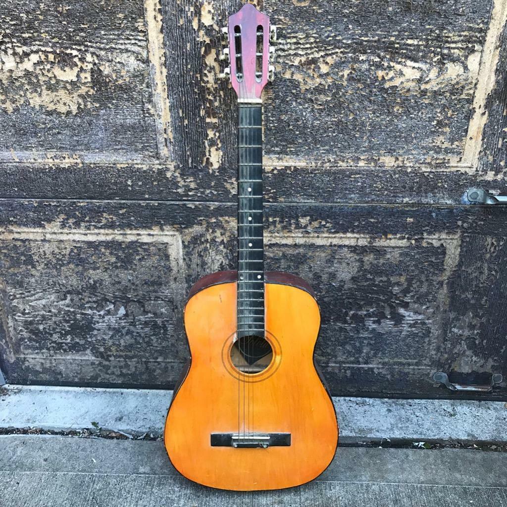 Vintage Clanel Solotu Acoustic Guitar