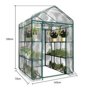 PVC-3-Tier-Portable-Greenhouse-6-Shelves-PE-Cover-Plant-Garden-Green-House-Cover
