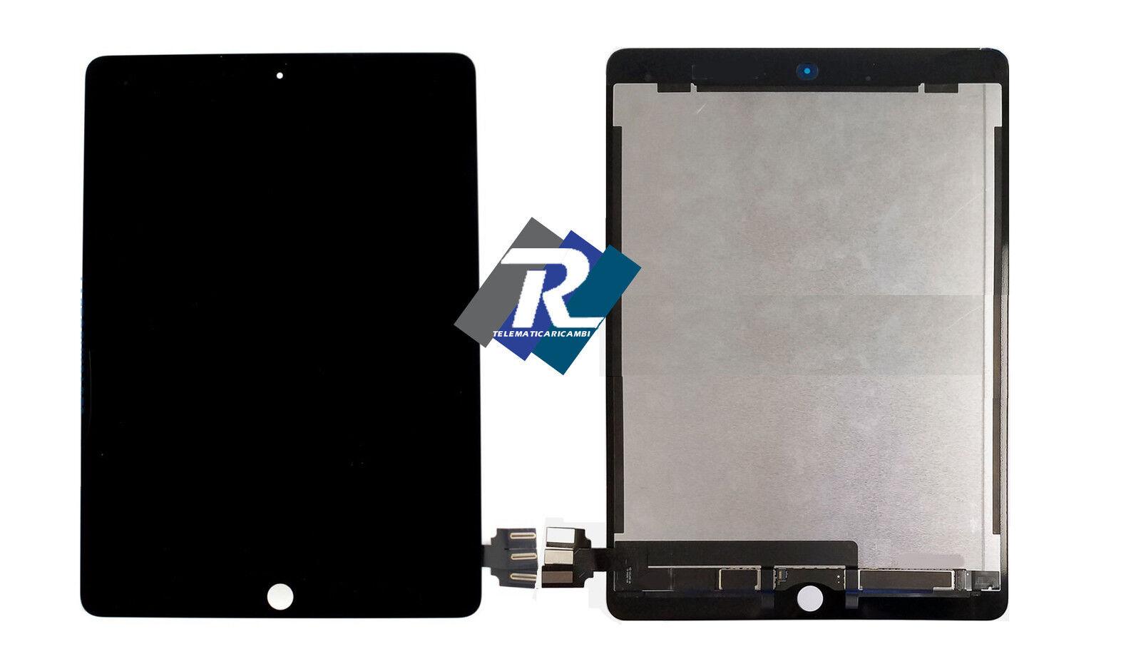 iPad: Display LCD Retina e Touch Screen Apple iPad Pro 9.7 2016 A1673 A1674 A1675 Nero