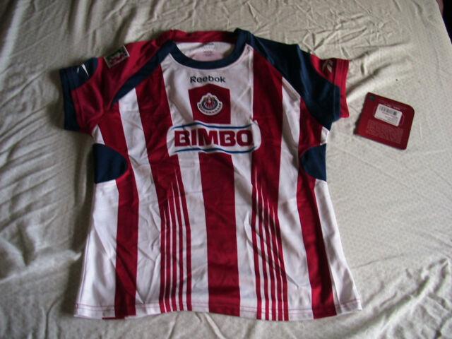 c6fd6e063 Team Chivas Womens Official Soccer Jersey Reebok Local Size M 2011 ...