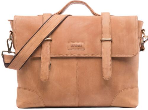 Cuir look vintage véritable Leabags Briefcase Liverpool MpUGqSzV