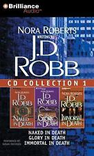 J. D. Robb CD Collection 1: Naked in Death, Glory in Death, Immortal in Death (