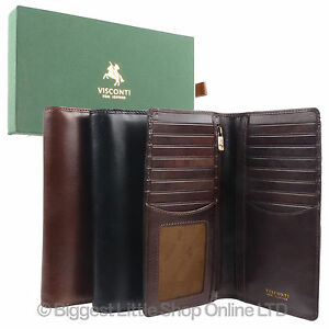 Mens-Italian-Leather-Stylish-RFID-Protected-Suit-Wallet-by-Visconti-Gift-Box