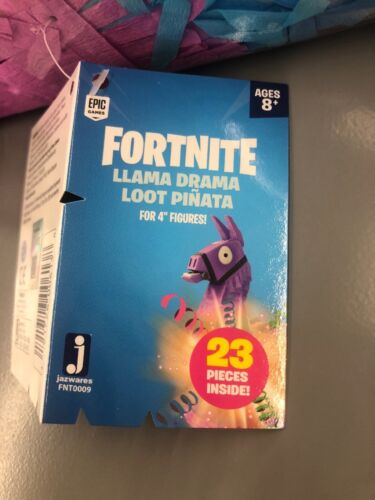 OFFICIAL FORTNITE LLAMA DRAMA LOOT PINATA SET 23PCS RUST LORD FIGURE NEW!