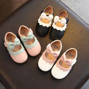 Toddler-Kids-Baby-Girls-Fashion-Shoes-Princess-Shoes-Casual-Single-Shoes-AU
