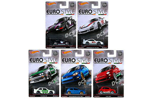 Details About Hot Wheels Case Of 10 Cars Euro Style Assortment 1 64 Diecast Car Djf77 956b