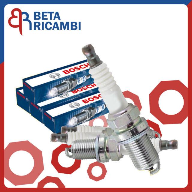 Candele Fiat Punto 1.2 8V 188 Panda Seicento 1.1 Natural Power Bosch