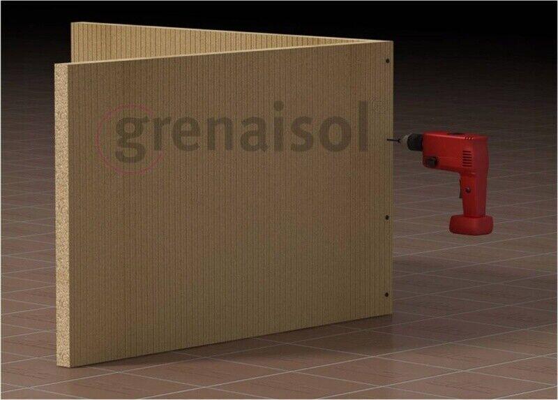 Kaminbausatz 1s BxTxH    88x60x200 cm Kaminverkleidung Kaminbauplatte inkl. Putz 102211