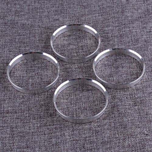 4Pcs//Set Car Wheel Hub Centric Spigot Rings 66.1mm OD to 64.1mm ID Rings Parts