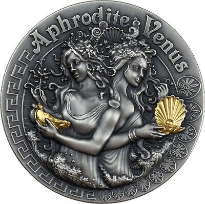 Panteleimon 1 Oz Silver Gilded Coin LIMITED! Niue 2014 $2 Orthodox Shrines St