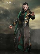 HOT TOYS SIDESHOW 1/6 LOKI THOR THE DARK WORLD NUOVO BROWN BOX
