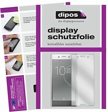6x Sony Xperia XZ Premium Schutzfolie klar Displayschutzfolie Folie dipos