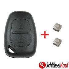 RENAULT Master Trafic Autoschlüssel Gehäuse OPEL Movano Vivaro + 2x Mikrotaster