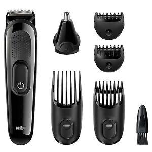 Braun-MGK3020-Men-Multi-Grooming-Kit-6-in-1-Beard-amp-Hair-Clipper-Trimming-Shaver