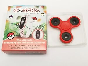 Pokemon Go-Tcha Wristband for Pokemon Go Android iPhone  + Red Fidget Spinner 696554030435