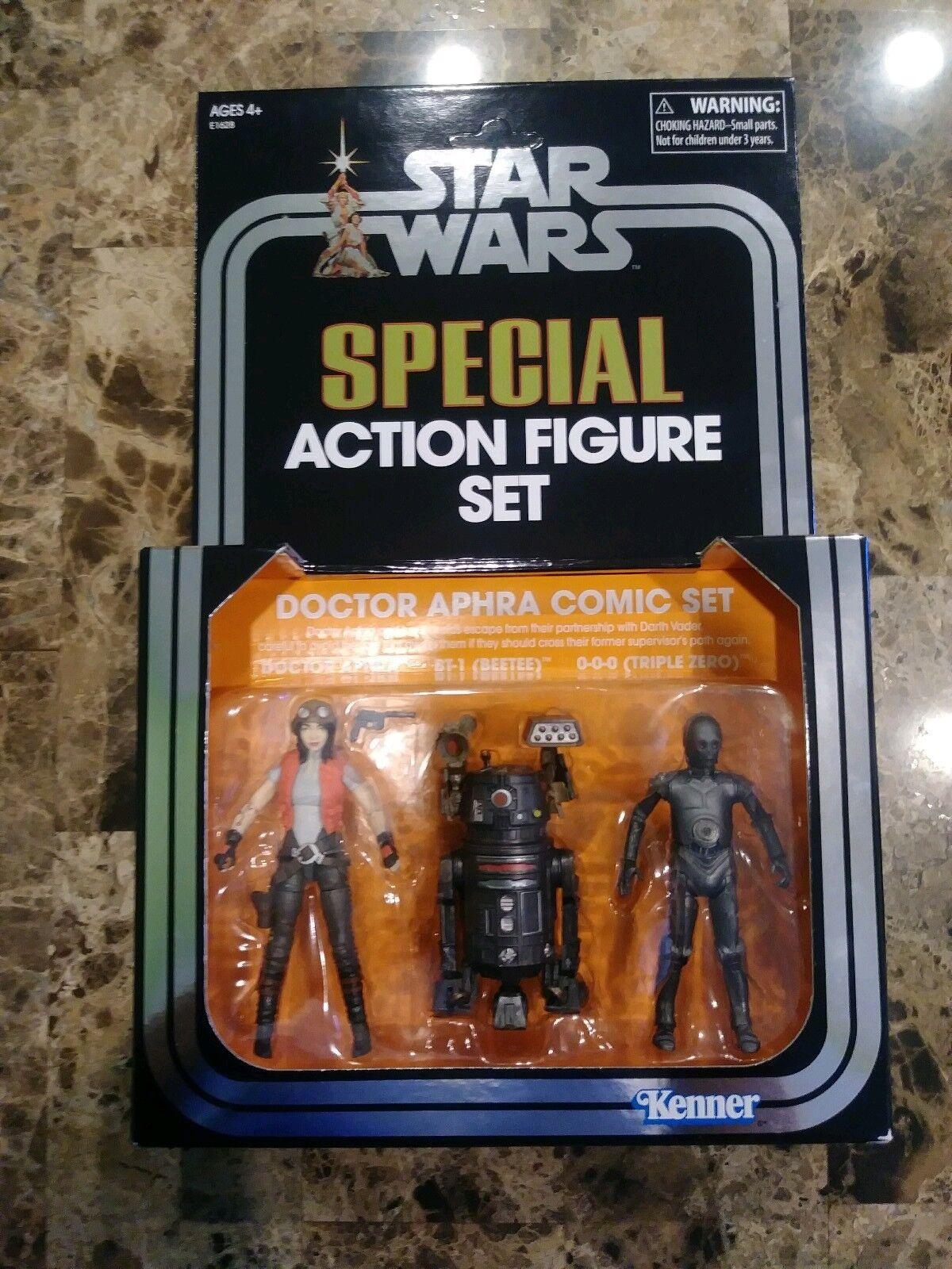 Star Wars Vintage Collection 2018 SDCC Exclusive Doctor Aphra Comic Set