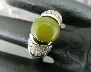 David-Yurman-Sterling-Silver-amp-18K-Gold-Green-Chalcedony-amp-Diamond-Cable-Ring