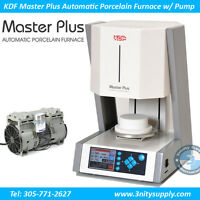 Porcelain Furnace KDF Master Plus Automatic Oven with Vacuum Pump Dental Lab NEW