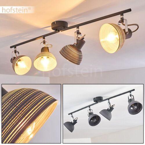 Flur Decken Leuchte 4-flammig Wohn Schlaf Raum Lampe Küchen Strahler verstellbar