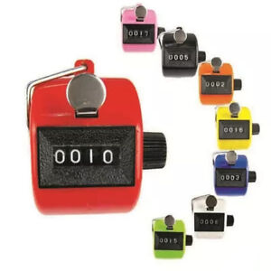 Digital-Hand-Held-Tally-Clicker-Counter-4-Digit-Number-Clicker-Golf-Chrome-US