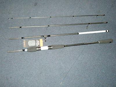 Fishing Rovex Ceratec 4 Pezzi 8 '20-40g Mare Spigola Da Viaggio Canna Pesca Attrezzatura