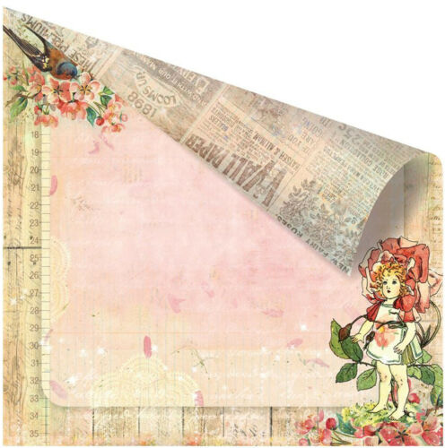 Fairy Rhymes Collection Scrapbooking 12x12 inch Paper Pack PRIMA 16 Sheets NEW