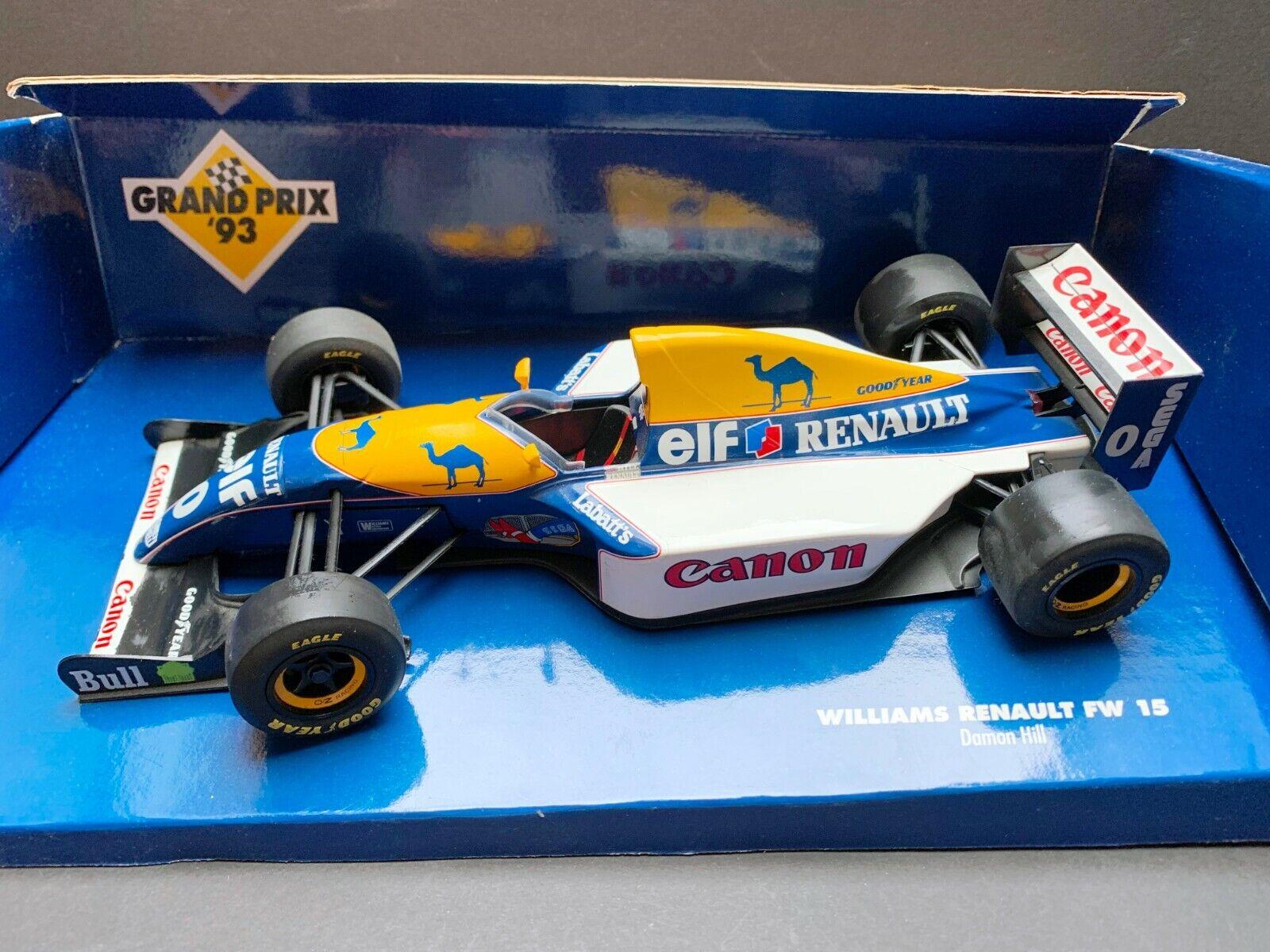 Minichamps  Damon Hill  Williams  FW15  1 18  1993  Very rare