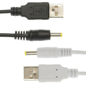 2m USB 5V Black Charger Power Cable Adaptor for Exposure Diablo MK6 Bike Light