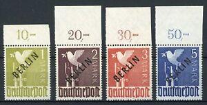 Berlin MiNr. 17 -20 P OR ndgz postfrisch MNH gep. Schlegel (MA1130