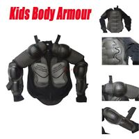 Motocross Bmx Kids Body Armour Motor Dirt Bike Quad Protector Chest Size S