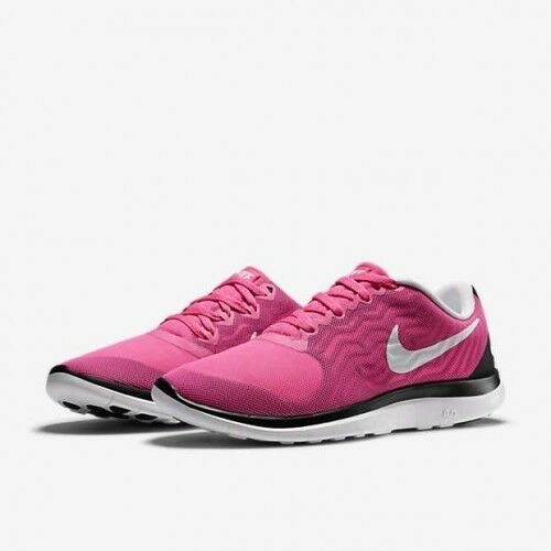 Women's Free 4.0 Pink Powder White Black running training 718412-617