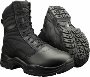 40-Off-Magnum-Viper-Women-039-s-8-034-Side-Zip-Soft-Toe-Tactical-Police-Swat-Boots