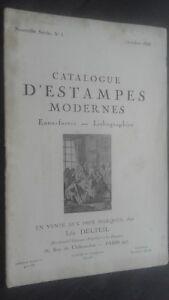 Catálogo De Venta N º 1 Catálogo Impresiones Moderno Octubre 1928 ABE