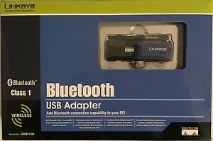 DRIVERS UPDATE: LINKSYS USB BLUETOOTH ADAPTER USBBT100