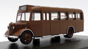 Oxford-Diecast-1-76-Scale-76OWB002-Bedford-OWB-Bus-Brown-MOS