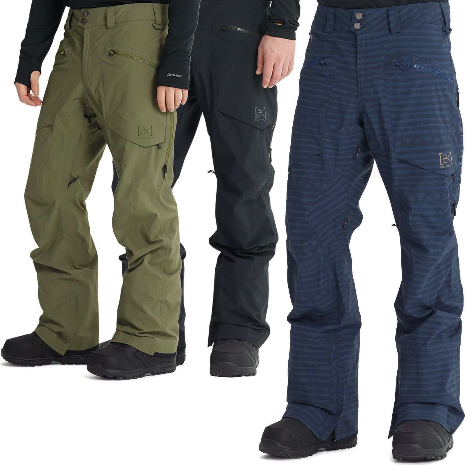 Pantalón de aire de Bolton AK, esquí impermeable.