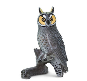 LONG-EARED-OWL-100093-NEW-for-2018-FREE-SHIP-USA-w-25-SAFARI-Ltd