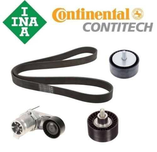 Belt Tensioner 2 Deflection Pulleys Belt Kit For BMW F10 F07 F12 E70 E71 535i x5