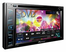 """PIONEER AVH 280BT 6.2"""" Double DIN touchscreen CD DVD tuner Bluetooth USB Aux"""