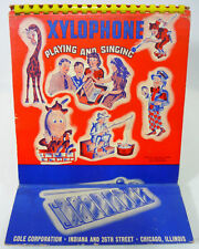 Vintage XYLOPHONE PLAYING & SINGING BOOK (1939) Musical Instruments TOYS