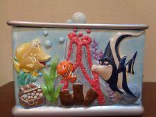 Disney/Pixar Finding Nemo Aquarium Tank Cookie Jar Ceramic