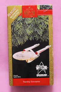 1991-Hallmark-Star-Trek-Starship-Enterprise-25th-Anniversary-Ornament
