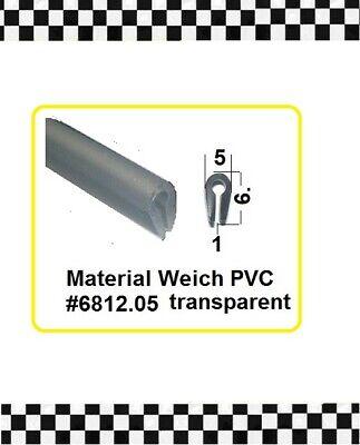 Aufstrebend 1m Muster Kantenschutz Transparent F. 1mm Gummiprofil 6812.05 Aus Berlin Zur Verbesserung Der Durchblutung