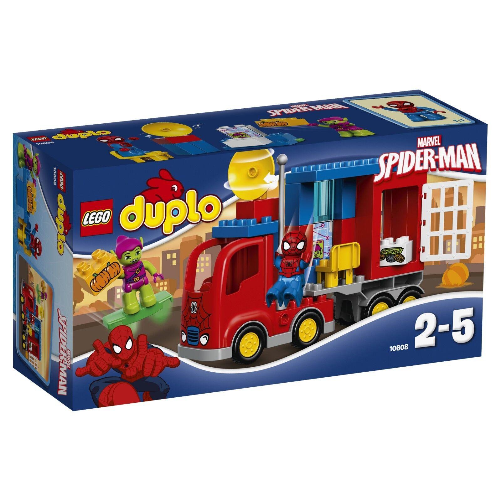 LEGO ® DUPLO ® 10608 Spider-Man-Spider-Camion - Aventure Nouveau neuf dans sa boîte NEW En parfait état, dans sa boîte scellée Boîte d'origine jamais ouverte