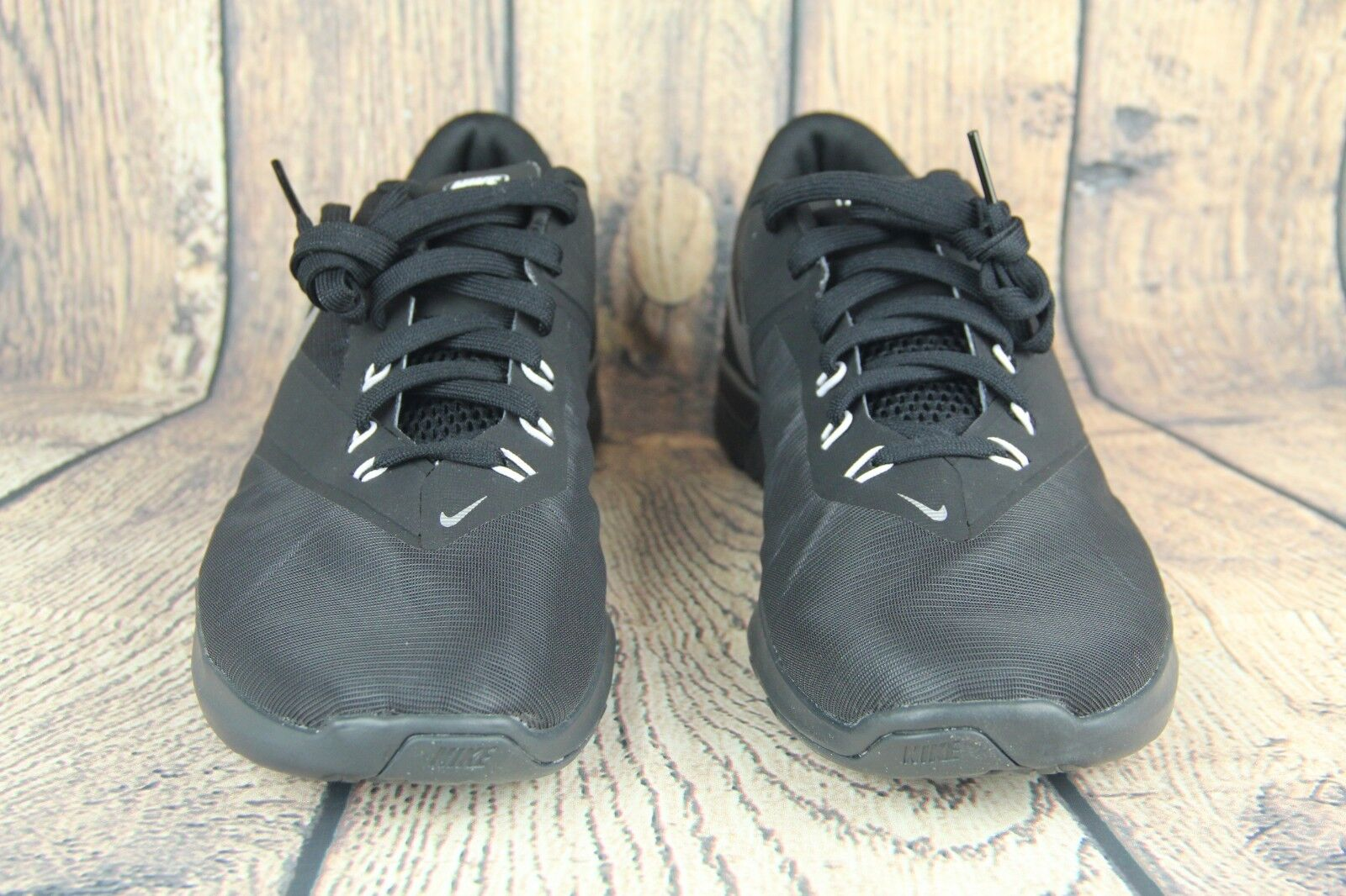 Mens Nike FS Lite Lite Lite Trainer 4 Training shoes Black Anthracite Silver 844794 001 SZ c50046