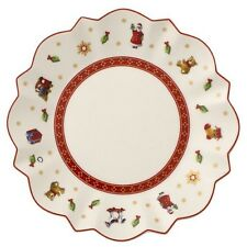 Villeroy & and Boch Christmas TOY'S DELIGHT white side / bread plate 17cm NEW